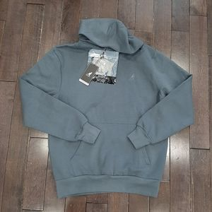 Kangol Blueish Grey Hoodie with Face Mask